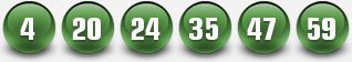 PLAYMEGASENA WINNING NUMBERS FOR 23 AUG 2014 (SATURDAY)