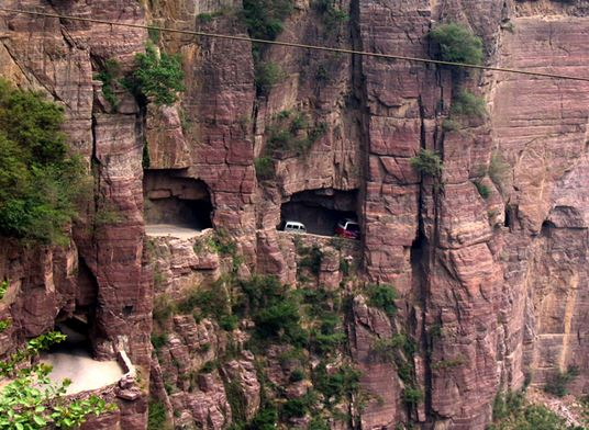 Guoliang Tunnel Road, China, road trip
