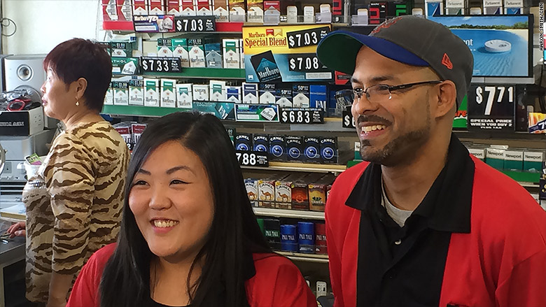 $429 Powerball winning store owners