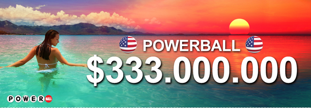 Powerball 333 millones