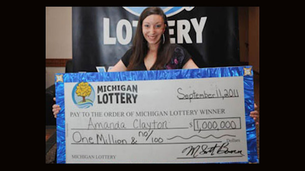 Amanda Clayton Lottery Fail